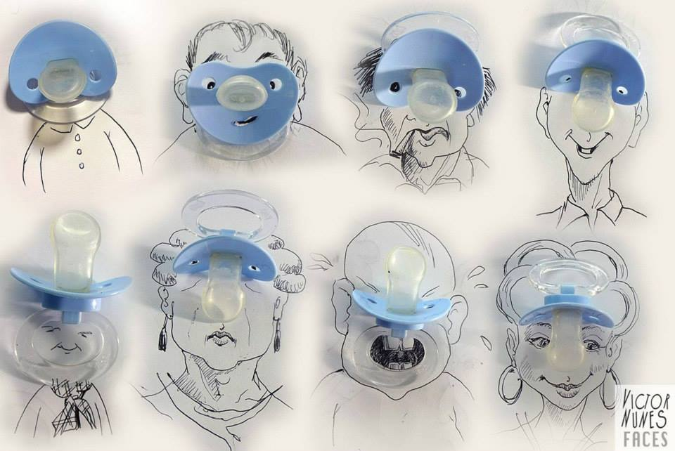 ilustraciones-2D-objetos-3D-chupetes-victor-nunes