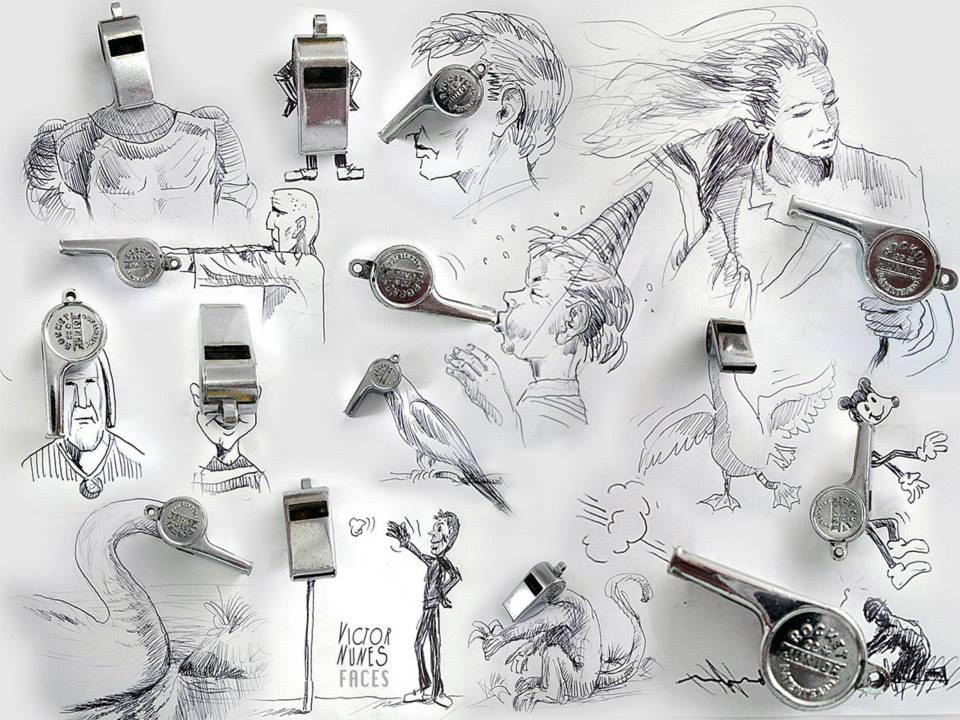 ilustraciones-2D-objetos-3D-silbato-victor-nunes