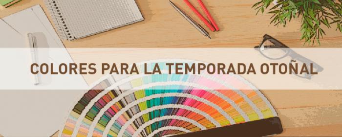 Colores para la temporada otoñal