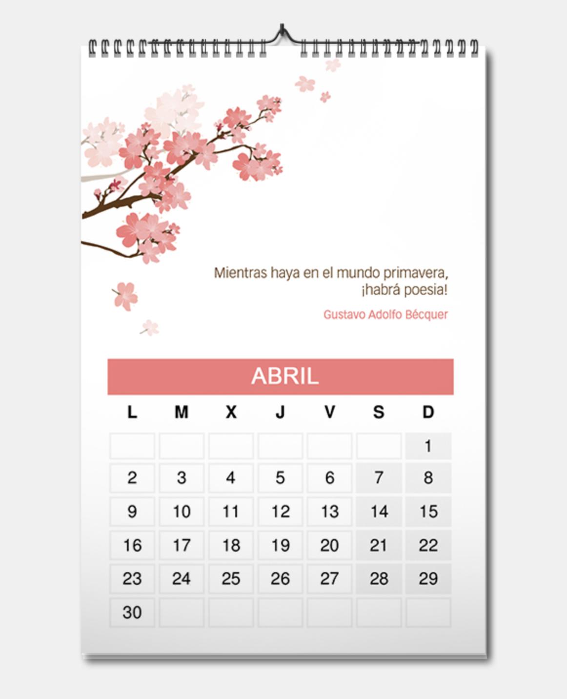 ideas para calendarios
