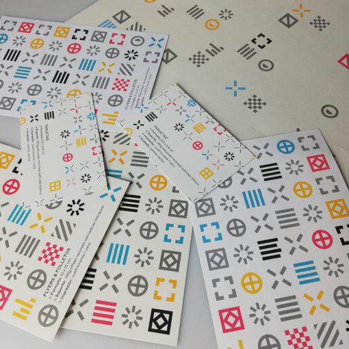 papeles reciclados