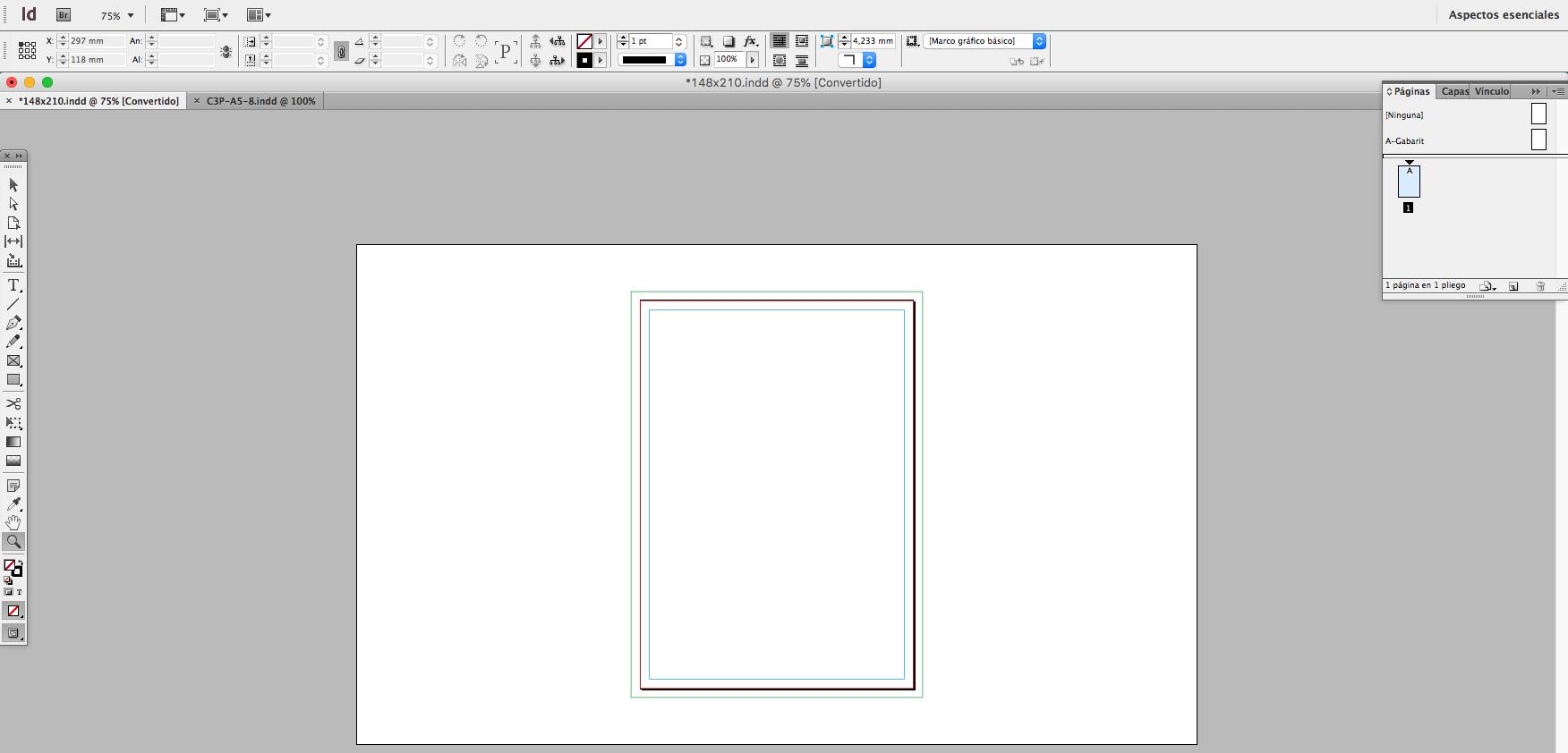 como maquetar un libro-pagina interior