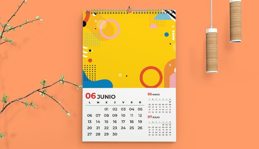 Calendarios 2022 para imprimir