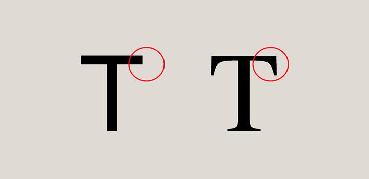 Sans Serif vs Serif