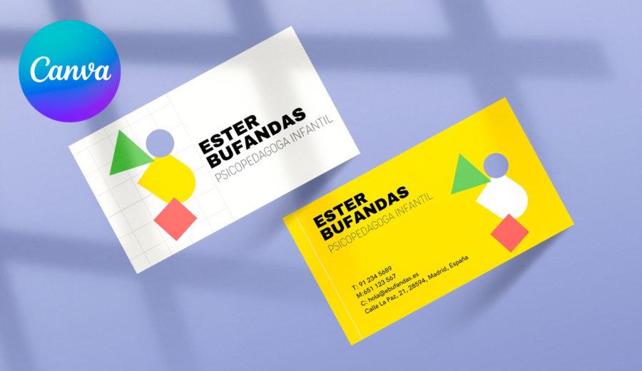 Impresión tarjeta de visita Exaprint